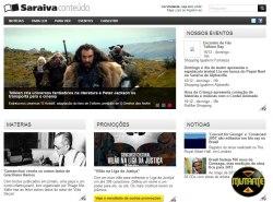Site da Saraiva Conteúdo