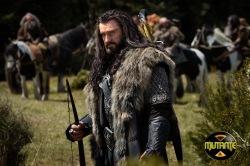 Thorin Escudo de Carvalho em busca de seu reino