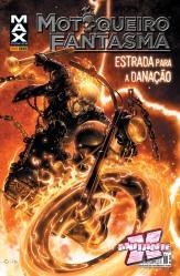 Encadernado do Motoqueiro Fantasma, lançado para aproveitar a onda do filme do herói