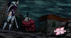 Aquaman cansou de ser chamado de inútil e arruma briga com a Mulher-Maravilha.