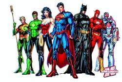 Novos visuais dos heróis