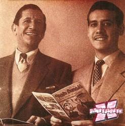 Cláudio de Souza, braço direito de Victor Civita, era roteirista das HQs.