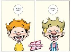 É bom ser criança, né, Chico e Zé?