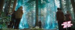 Barreira mística que protege o acampamento vem da árvore Thalia