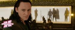 Como castigo por seus crimes, Loki é encarcerado em Asgard.