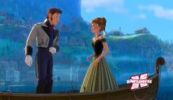Anna cai de amores por Hans. Literalmente.