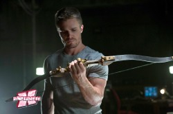 SCENE FROM EPISODE OF CW SERIES 'ARROW'
