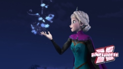 Elsa tem poderes congelantes que não consegue controlar.