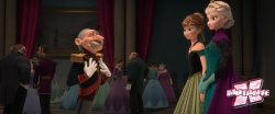 Elsa é coroada rainha e faz contatos comerciais com o ambicioso Duque de Weselton