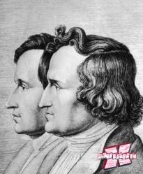 Os Irmãos Grimm foram responsáveis por compilar e recontar vários contos de fada no século 19