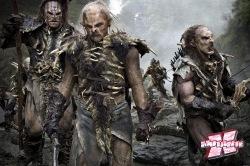 Os Orcs farão de tudo para impedir os anões de atingir seu objetivo