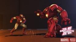 Homem de Ferro contra ele mesmo? Não, é só um teste da armadura Caça-Hulk.