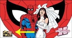 imagem do site da Marvel: logotipo discreto