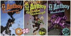 Antboy é um personagem que existe nos quadrinhos da Dinamarca