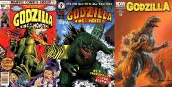 Três editoras já publicaram o monstro em quadrinhos