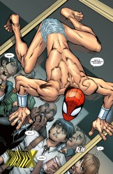 Momento constrangedor: Homem-Aranha nu diante de toda cidade.