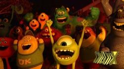 Oba! Tem curta dos Monstros S.A. antes dos Muppets!!!