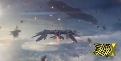 Batalhas espaciais, mas dentro da atmosfera.