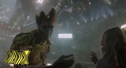 Groot: cenas de pura magia.