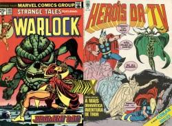 Gamora surgiu nas aventuras do herói Adam Warlock, na consagrada Saga de Thanos
