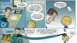 Franklin: superpoder de inventar confusão.