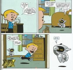 O sarcasmo de Herbie é o ponto alto do gibi.