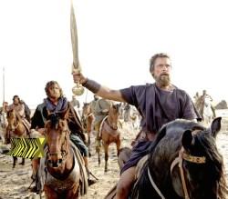 Cajado é para os fracos. Eu uso é uma espada!