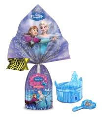Ovo Frozen vem com uma coroa porta-surpresa