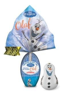 O simpático Olaf ganhou um ovo só dele, que vem com um inflável teimoso.