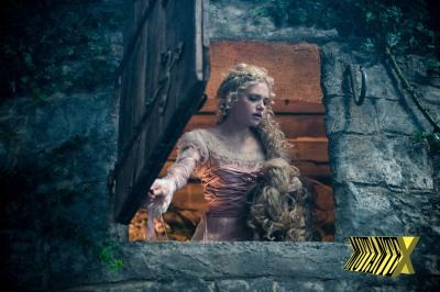 Rapunzel, Rapunzel, joga-me suas tranças para que eu possa subir aí e cantar no seu karaokê!