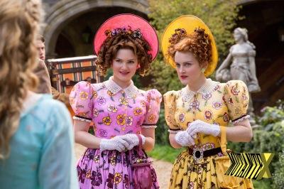 Drisella e Anastasia: futilidade em dose dupla e cores invertidas.