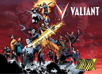 Heróis da Valiant também tiveram vida curta.