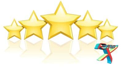 Obrigado por fazer nosso blog ser cinco estrelas!