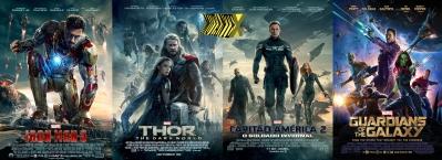 Filmes da fase 2 da Marvel que se direcionaram para Os Vingadores
