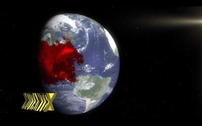 """É o fim do mundo! Nunca houve um """"efeito especial"""" tão ruim na história da humanidade."""