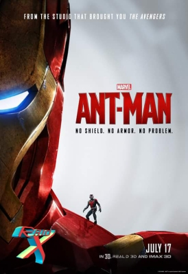 Patrão e empregado (Sim, nos quadrinhos Tony Stark é patrão de Scott Lang)