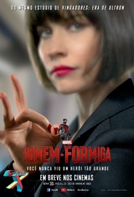 Evangeline Lilly interpreta Hope Van Dyne