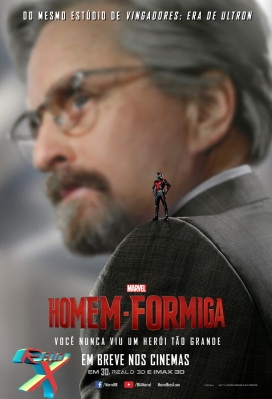 Michael Douglas é Hank Pym