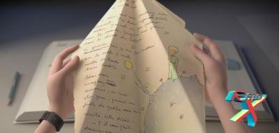Um avião de papel com uma história cativante
