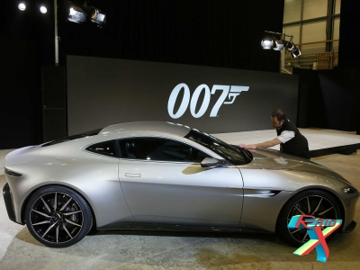 Uma das características dos filmes de James Bond são os carros tunados