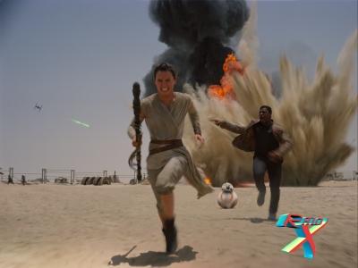 Rey, Finn e BB-8: novos personagens, a mesma batalha