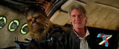 """""""É bom estar de volta, Chewie!"""""""