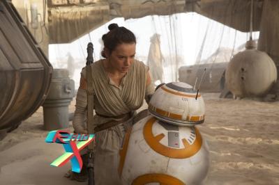 Entramos pra história do cinema, BB-8!