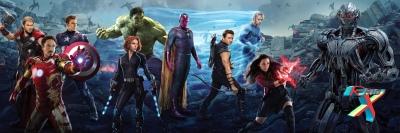 Os maiores heróis da terra reunidos de novo.
