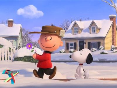 Charlie Brown e Snoopy ganham profundidade em suas formas. Porque nos roteiros, era comum.
