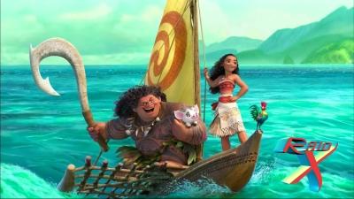 A nova princesa da Disney vem da Oceania