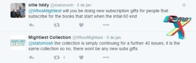 Anúncio oficial foi feito via twitter