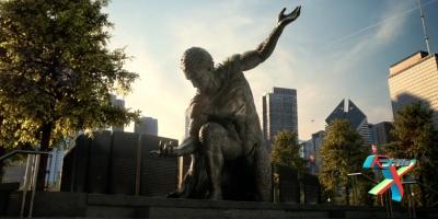 Monumento a um herói. Ou não.