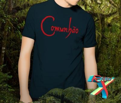 Uma das recompensas para os colaboradores será esta camiseta (consulte o valor).