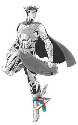 Novo herói que vem por aí. Imagem divulgada com exclusividade pelo site Papo de Quadrinho no dia de hoje.
